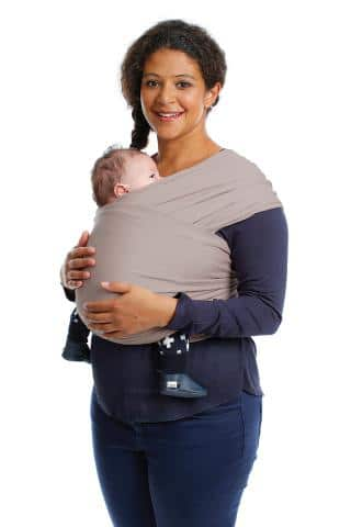 Babylonia Carrier Tricot Slen Organic - Mild Taupe