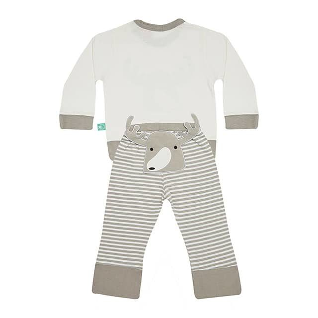 ergoPouch pyjamas with moose, back