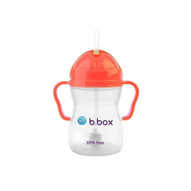 b.box - Mugg med smart sugrör - Vattenmelon