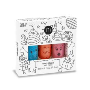 Nailmatic Kids Barnnagellack Party Set 3