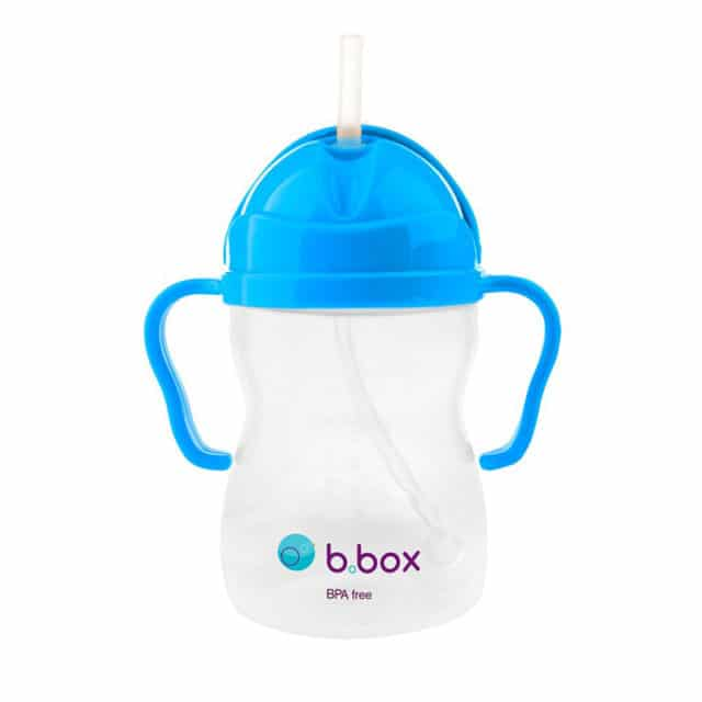 b.box - Sippy Cup with Weighted Straw - Cobalt